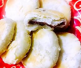 苏式月饼(平底锅版)豆沙馅儿的做法