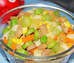 果蔬五宝丁的做法