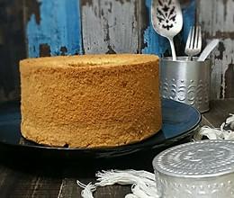 枫糖戚风蛋糕#豆果5周年#的做法