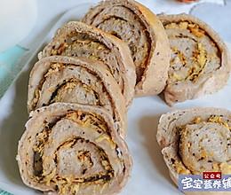 牛肉丝切片面包的做法