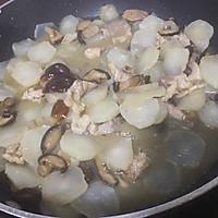 芥菜片炒香菇肉丝的做法图解7