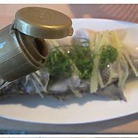 葱油鲈鱼的做法图解5