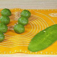 抹茶蛋黄酥的做法的做法图解8