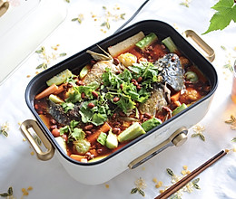 #下饭红烧菜#家庭版香辣鱼火锅的做法
