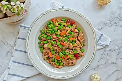 青黄豆炒肉