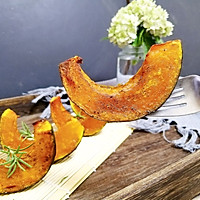 #秋天怎么吃#黑胡椒椒盐烤贝贝南瓜的做法图解8