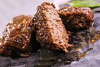 洋葱牛肉饼:牛肉饼更鲜嫩多汁香浓,只需一招!的做法