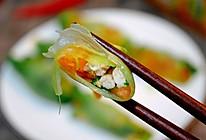 #相聚组个局#超减脂!西红柿鸡胸肉生菜卷的做法