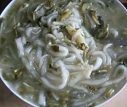 浆水炒土豆粉的做法