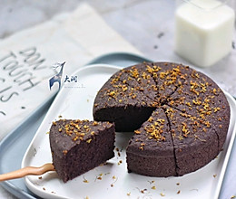 桂花红糖黑米糕-补血不上火#松下多面美味#的做法