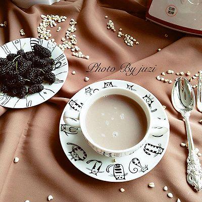 红豆薏米豆浆