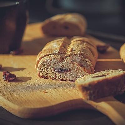 全麦面包~坚果面包!口感超软