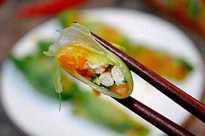 超减脂!西红柿鸡胸肉生菜卷