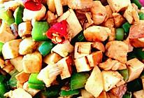 清香四丁(鸡肉、山药、青椒、豆干)的做法