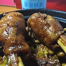 小公鸡烧毛豆