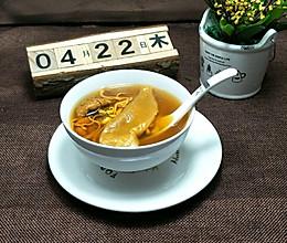 姬松茸花胶汤的做法