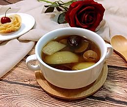桂圆红枣梨水的做法