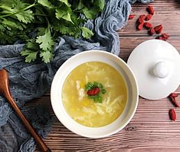 快手鸡茸粟米羹 #花10分钟,做一道菜!#的做法
