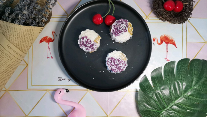 五彩月饼(减脂期版本)