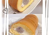 芋泥奶油蛋糕卷的做法