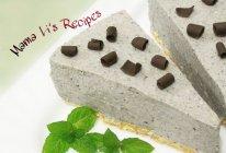 8寸黑芝麻豆腐芝士蛋糕(免烤)的做法