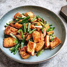 #做道懒人菜,轻松享假期#香煎豆腐