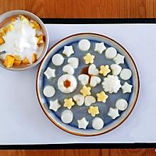奶冻水果下午茶