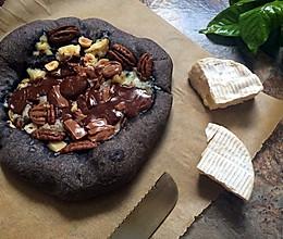 熔岩巧克力披萨--粗粝之风的做法