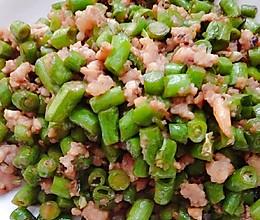 肉末炒豆角(快手家常菜,五分钟搞定)的做法