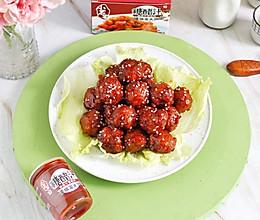 #我们约饭吧#好吃又好做的家常糖醋炸丸子的做法
