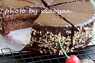 吃一口放不下----巧克力榛子蛋糕