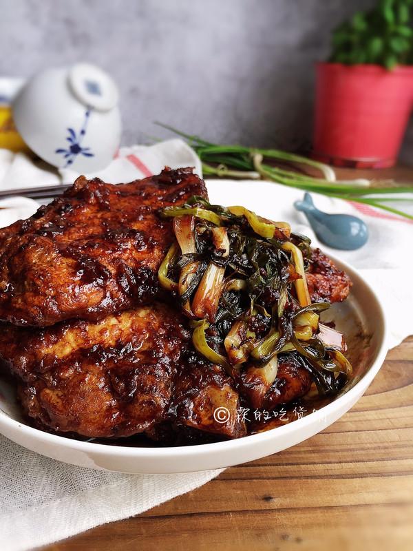 葱烤大排 经典本帮家常菜的做法