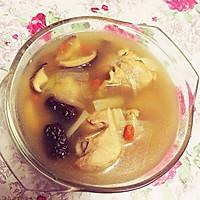 香菇鸡腿汤的做法图解5