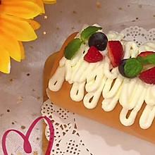 """#美食说出""""新年好""""#草莓奶油蛋糕卷"""