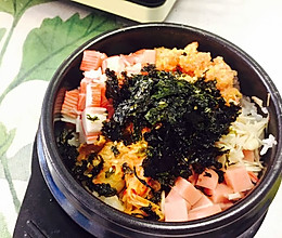 韩国鱼籽海苔拌饭的做法