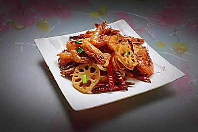 麻辣鲜香——香辣虾