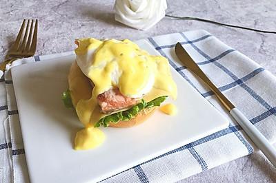 元气早餐 班尼迪克蛋(自制荷兰汁)