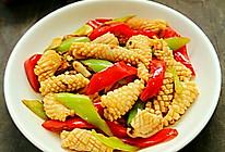 优食汇一元购的辣椒面做好吃的辣炒鱿鱼花的做法