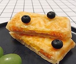 #全电厨王料理挑战赛热力开战!#三明治版手抓饼的做法