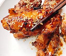 蒜香蜂蜜黄油鸡翅 比韩式炸鸡店更美味!的做法