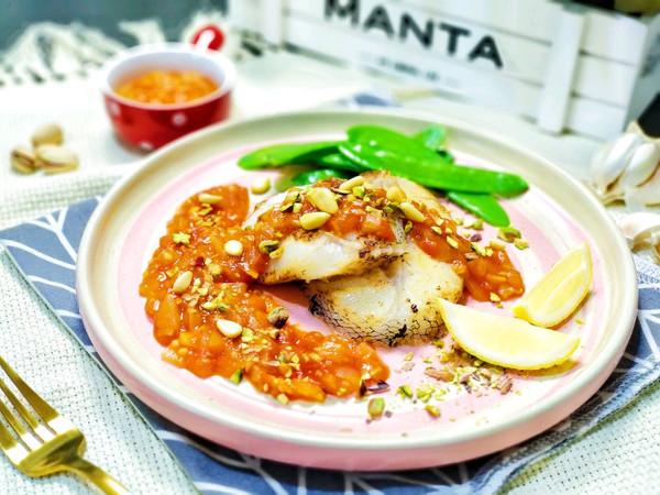 番茄黄油煎鳕鱼 感受特别的年味的做法