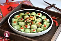 凉拌酸辣黄瓜卷的做法
