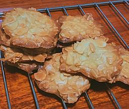 消耗蛋白的杏仁瓦片脆片 酥脆小点心的做法
