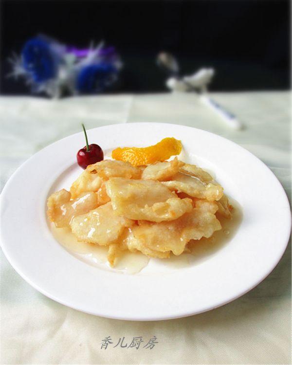 上海年夜饭必备--柠香鱼片的做法