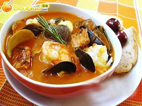 意大利海鲜浓汤的做法