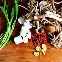 冬季养生食补菌菇老母鸡汤的做法图解4