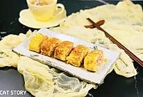 #父亲节,给老爸做道菜#火腿厚蛋烧(玉子烧)的做法