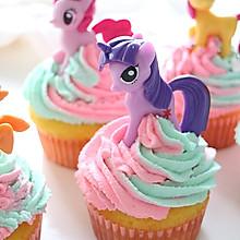 最棒儿童节,火遍全球的小马宝莉彩虹蛋糕,微波炉就能做