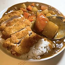 极简|日式咖喱猪扒饭