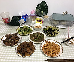 #我们约饭吧#快手版海米油菜的做法